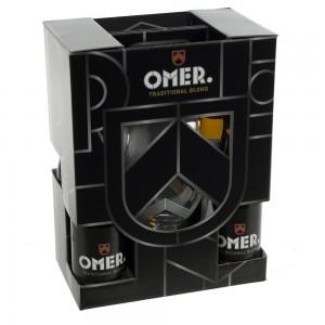 Omer traditional geschenkverpakking  33 cl  4fles+ 1glas
