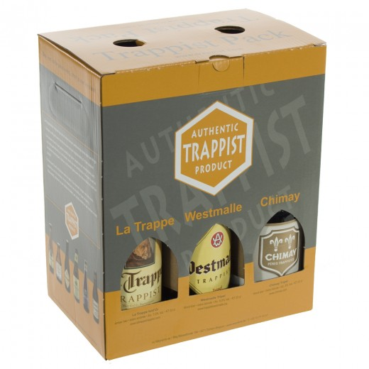 Trappist Pack Mix  33 cl  Pak  6 st
