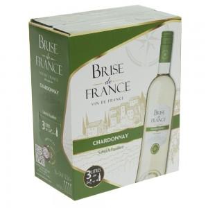 Brise de France VDP d' Oc Chardonnay 13.5%  Wit  3 liter  Vat