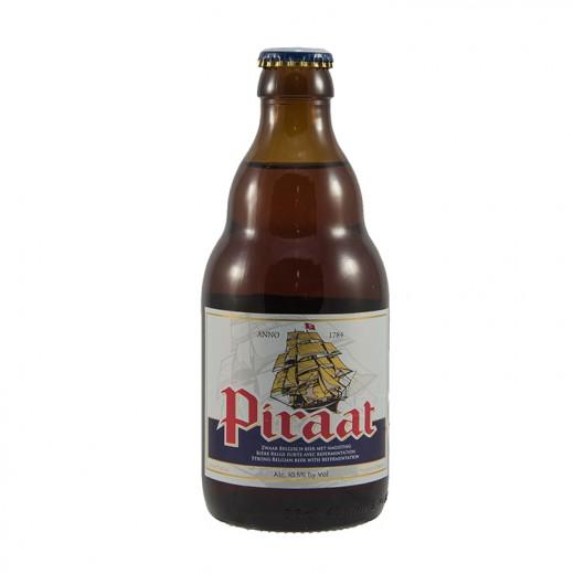 Piraat 10,5°  Amber  33 cl   Fles