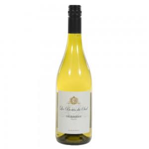 Les Bories Du Sud Chardonnay  Wit  75 cl   Fles
