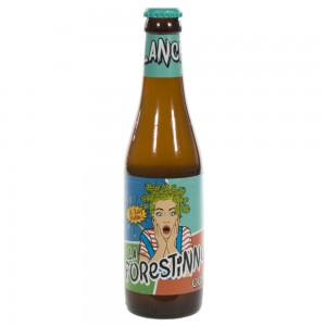 La Forestinne  Wit  33 cl   Fles