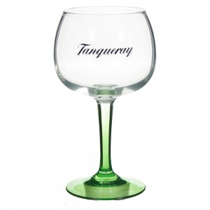 Tanqueray Glas groene voet