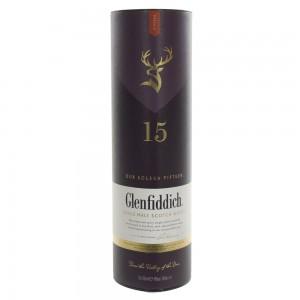 Glenfiddich 15y 40%  70 cl   Fles