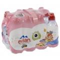 Evian PET  Plat  33 cl sportdop  Pak 12 st