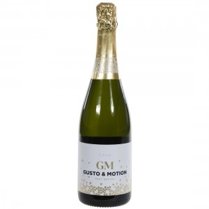 Cava GM Brut Nature  75 cl   Fles