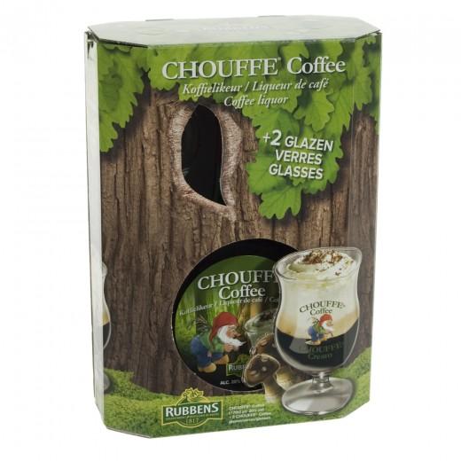 Chouffe Coffe Lik.geschenkverpakking
