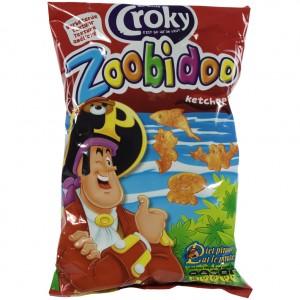 Croky Chips  Piet Piraat   Stuk  80 g