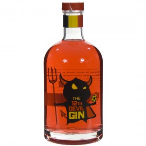 12th Devil Gin Red  70 cl