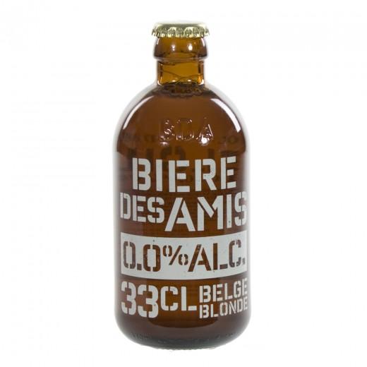 Biere Des Amis 0%  33 cl   Fles