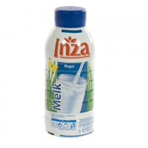 Inza Melk pet  Magere  500 ml   Fles