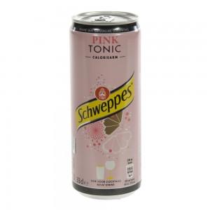 Schweppes Pink Tonic BLIK  33 cl  Blik