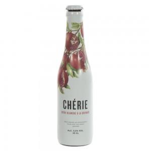 Cherie  Granaatappel  33 cl   Fles