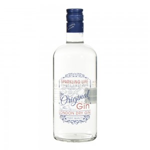London Dry Gin Sparkling Life 37,5°  70 cl