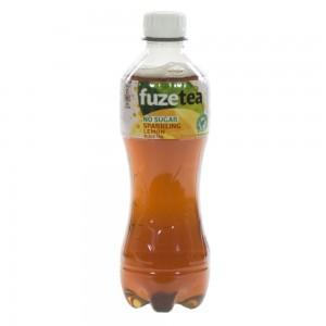 Fuze Tea PET  Sparkling Lemon Zero  40 cl   Fles