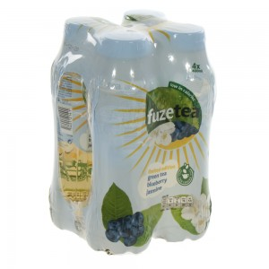 Fuze Tea PET  Green Tea Blueberry Jasmine  40 cl  Pak  4 st