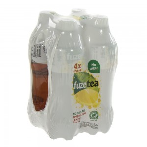 Fuze Tea PET  Sparkling Lemon Zero  40 cl  Pak  4 st