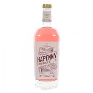 Ha'penny Rhubarb Gin  70 cl