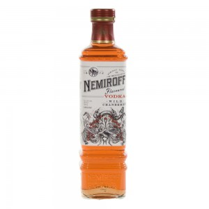 Nemiroff Vodka Cranberry  70 cl