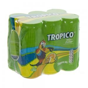 Tropicoo Blik  33 cl  Blik  6 pak