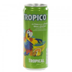 Tropicoo Blik  33 cl  Blik