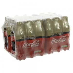 Coca Cola PET  Zero Caffeine vrij  50 cl  Pak 24 st