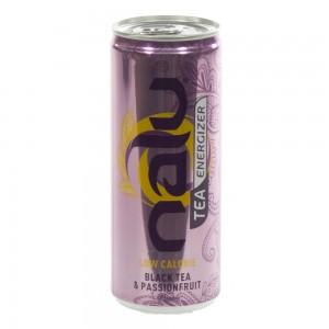 Nalu Tea Energizer  Black Tea-Passionfruit  25 cl  Blik