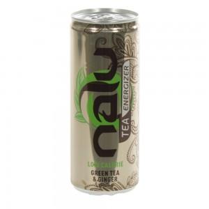 Nalu Tea Energizer  Green Tea-Ginger  25 cl  Blik