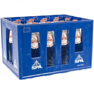 Spa water  Bruis  50 cl  Bak 18 fl