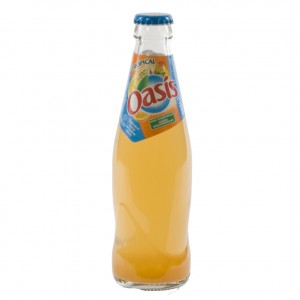 Oasis Tropical  25 cl   Fles