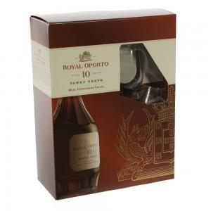 Royal Oporto 10 Years + 2 glazen