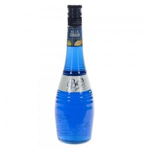 Bols blue curaçao 21%  70 cl