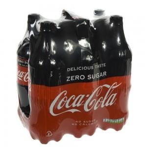 Coca Cola PET  Zero  1 liter  Pak  6 st