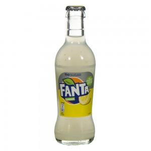 Fanta  Lemon Zero  20 cl   Fles