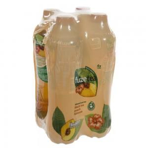 Fuze Tea PET  Black Peach Hibiskus  1,25 liter  Pak  4 st