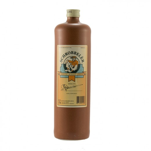 Schrobbeler Kruidlikeur 21.5%  70 cl   Fles
