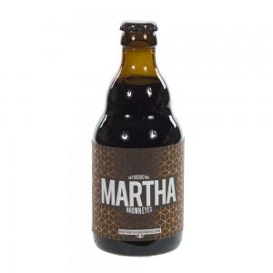 Martha  Bruin  33 cl   Fles