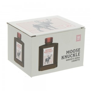 Moose Knuckle Vodka  20 ml  10 stuks