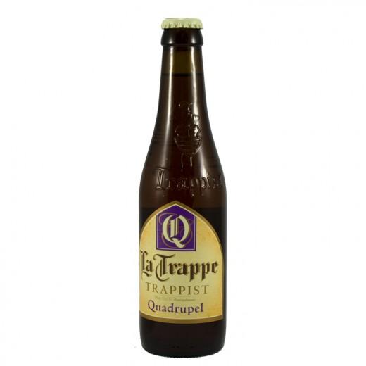 La Trappe trappist  Amber  Quadruppel  33 cl