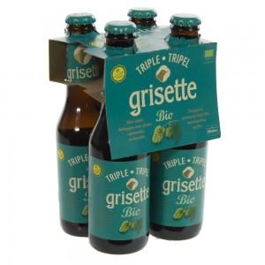 Grisette Triple Gluten Vrij  25 cl  Clip 4 fl