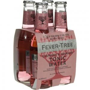 Fever Tree  Raspberry & Rhubarb  20 cl  Clip 4 fl