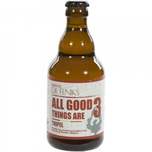 All Good Things Are 3  33 cl   Fles