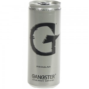 Gangster Energy drank  25 cl  Blik