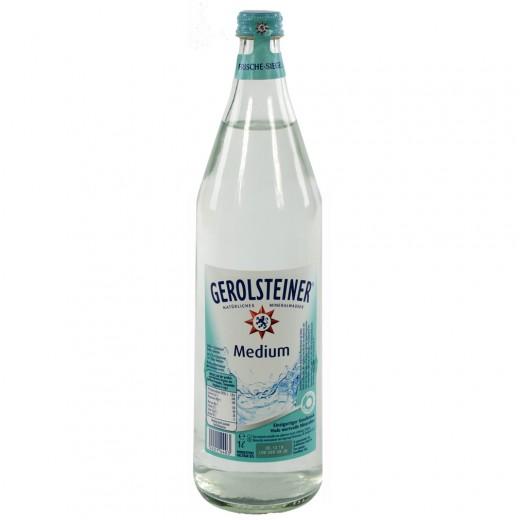 Gerolsteiner  Medium  1 liter   Fles