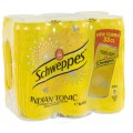 Schweppes Tonic BLIK  Regular  33 cl  Blik  6 pak