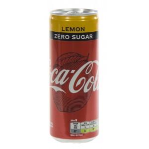 Coca Cola  Zero Lemon  25 cl  Blik