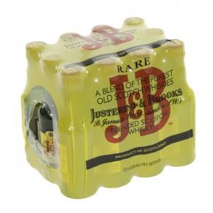 J & B Rare 40%  5 cl  Doos 12 st