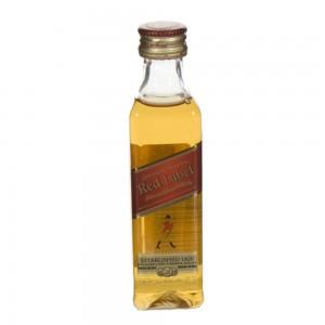 Johnnie Walker Red label 40%  5 cl   Fles
