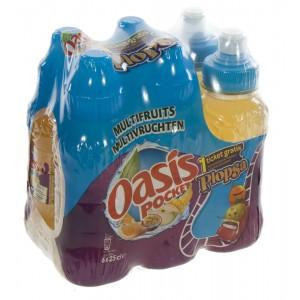 Oasis PET  Multi  25 cl  Pak  6 st
