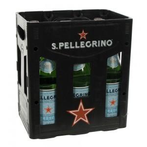 San Pellegrino  1 liter  Bak  6 fl